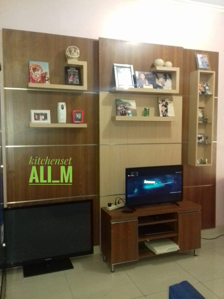 back drop tv minimalis