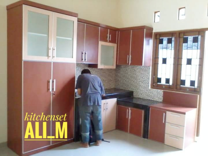 kitchen set design depok (2)