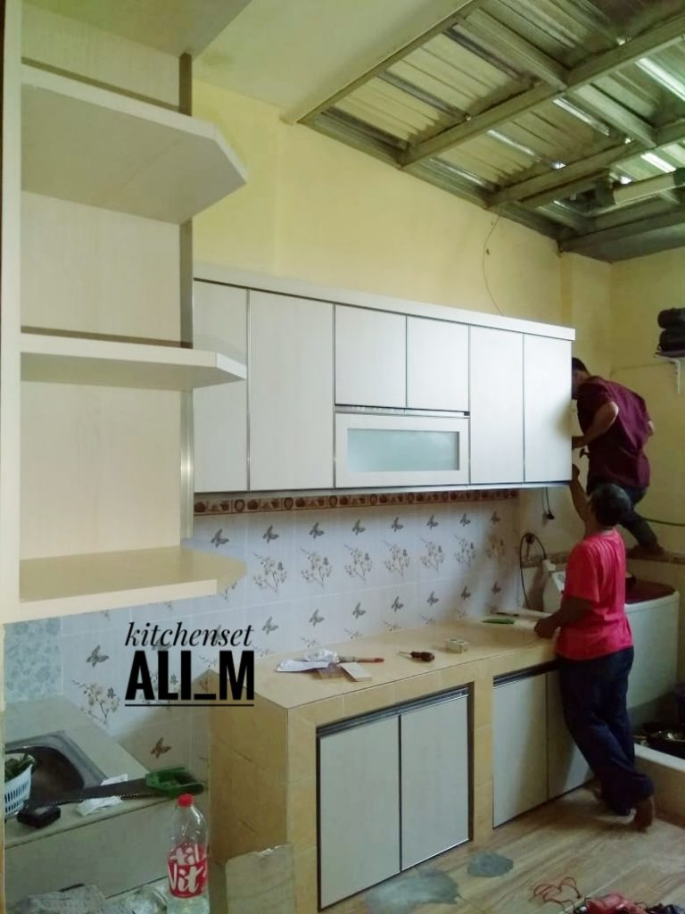 kitchen set design depok (5)