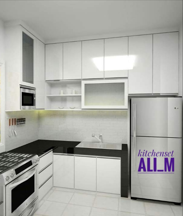 kitchen set design depok