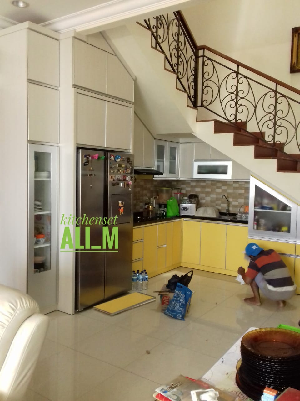 Kitchen Set Sederhana Kitchen Set Minimalis Depok